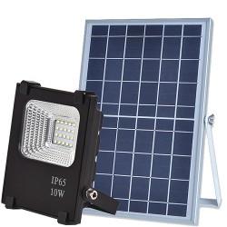 LED прожектор на солнечной батарее VARGO 10W с пультом (VS-319)